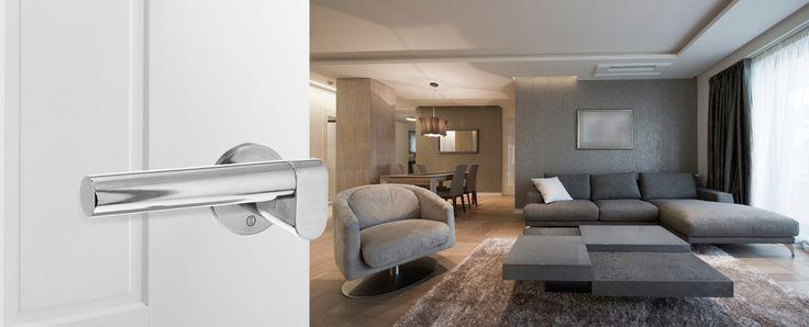 Intersteel deurkruk Dock Solid, is speciaal ontworpen door industrieel ontwerper Erik Munnikhof en kenmerkt zich door een minimalistisch ontwerp. Door het gebruik van roestvast staal, heeft de kruk een koel en zakelijke uitstraling en past het in elk interieur.
