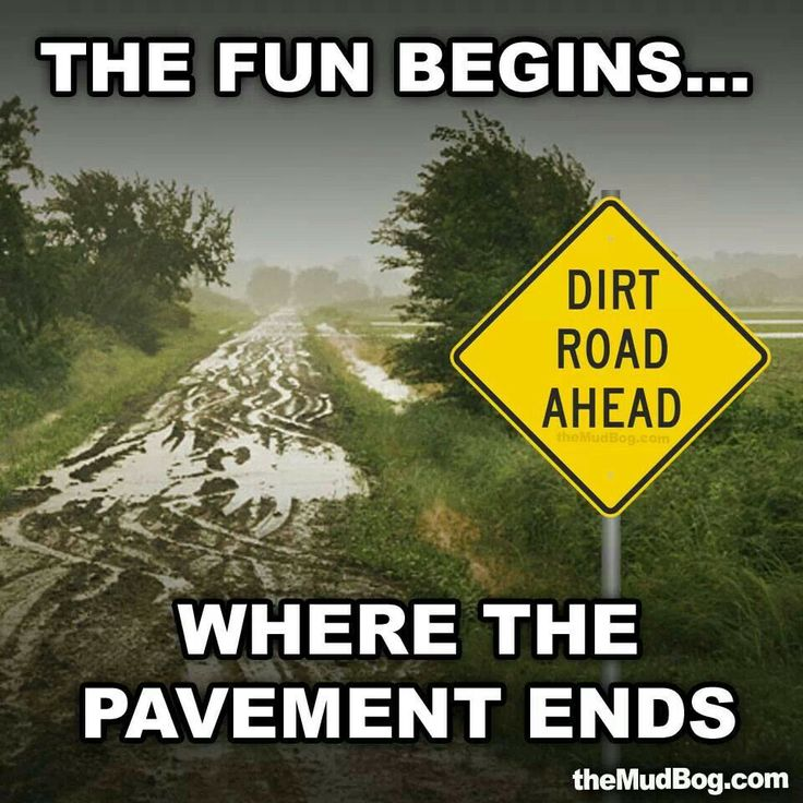 The fun begins where the pavement ends!