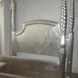 Silver Bed Thinking Of Painting My Four Poster Rice Bed
