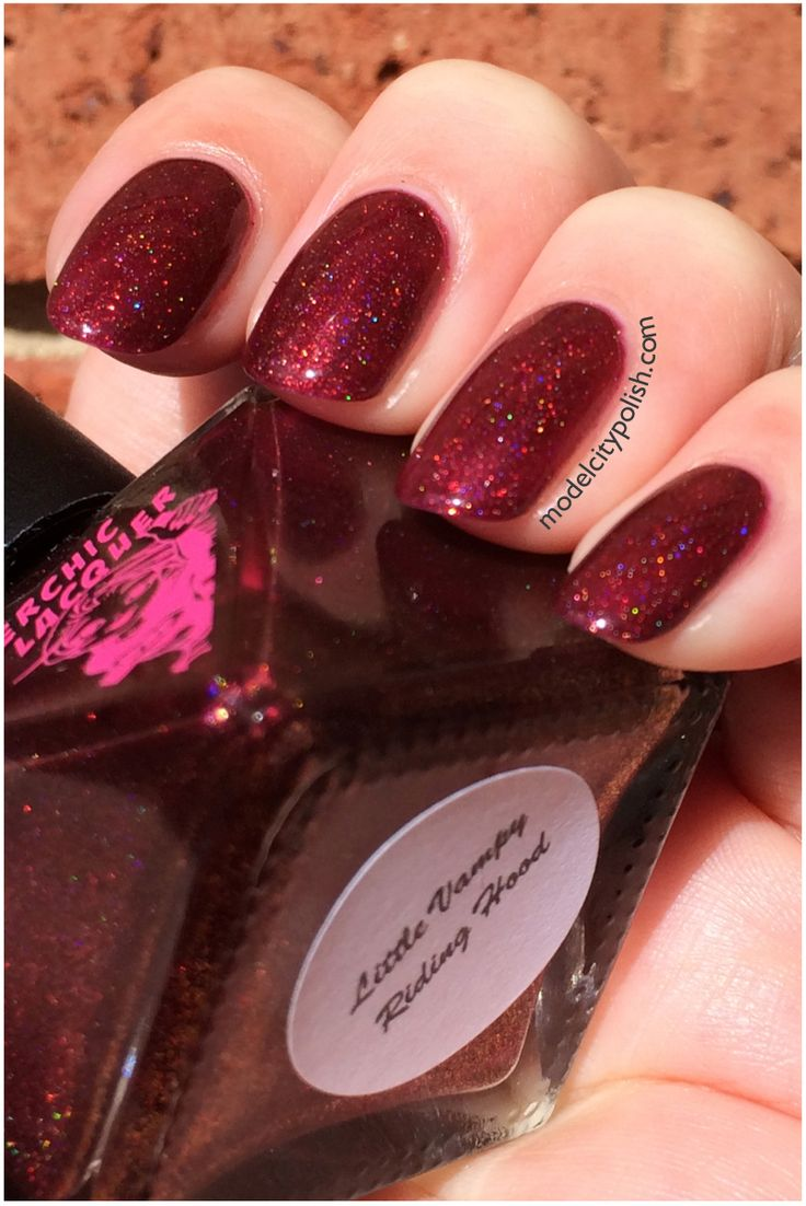 SuperChic Lacquer Little Vampy Riding Hood would like to trade for another SuperChic lacquer holo.