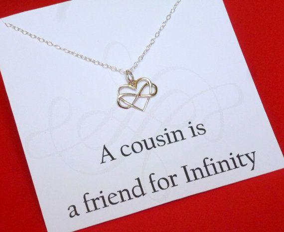 cousin birthday gift cousin wedding jewelry cousin graduation cousin ...
