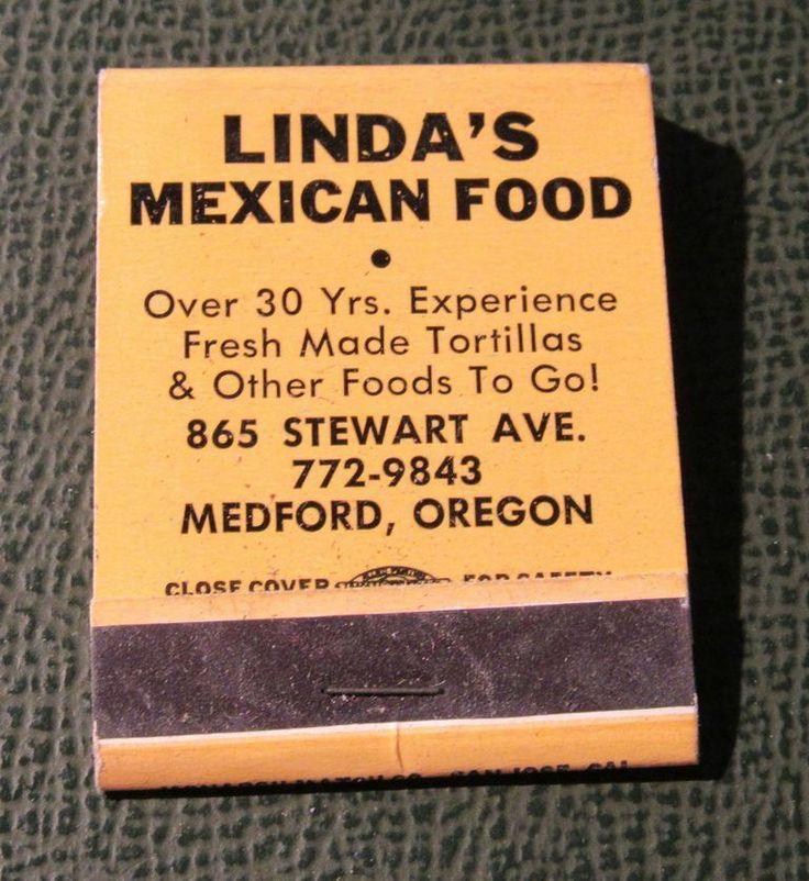 Details about matchbook lindas mexican food medford or