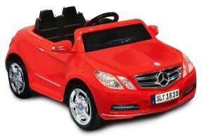 Mercedes Benz E550 6V, Red