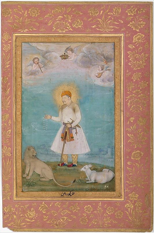 Akbar 1630, Mughal.
