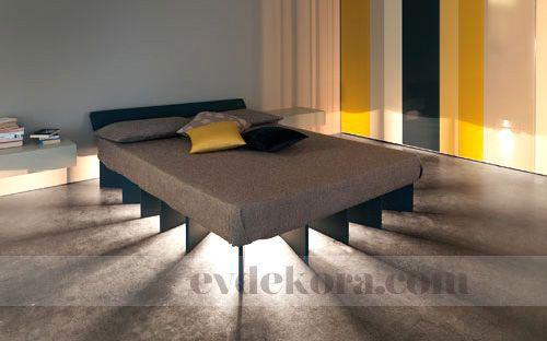 Güneş Işınları Etkisi Yatak Odanızda evdekora.com #yatakodası #bedroom