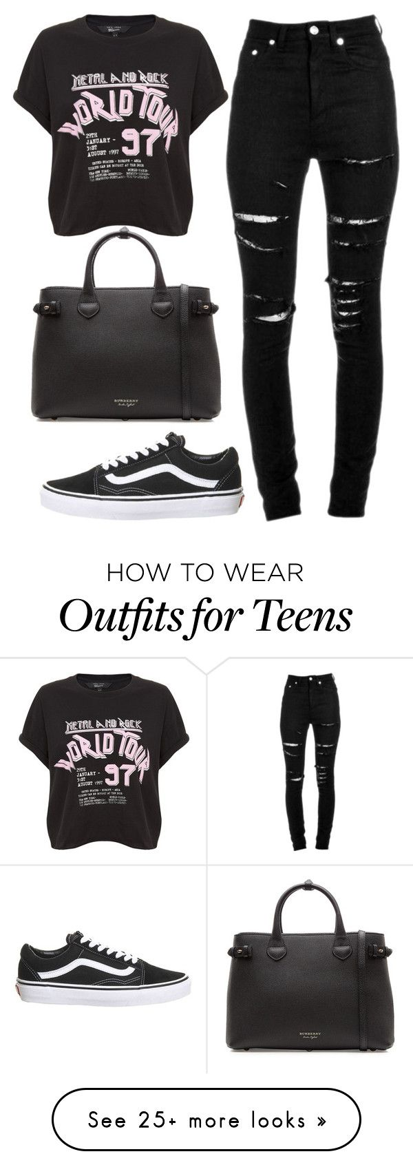 """Untitled #132"" by brodcasthood on Polyvore featuring Yves Saint Laurent, Topshop and Burberry"