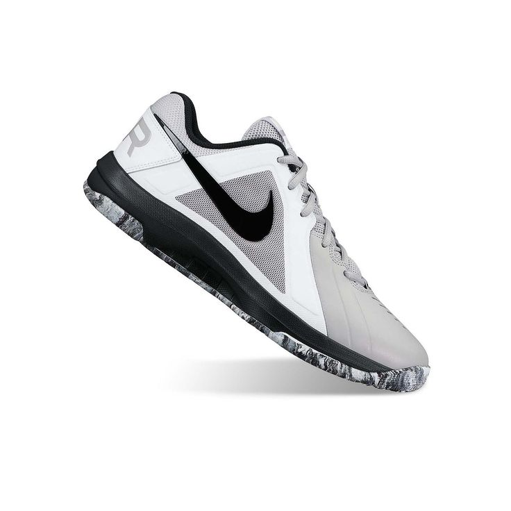 Nike Air Mavin Men's Basketball Shoes, Size: 10.5, Light Grey