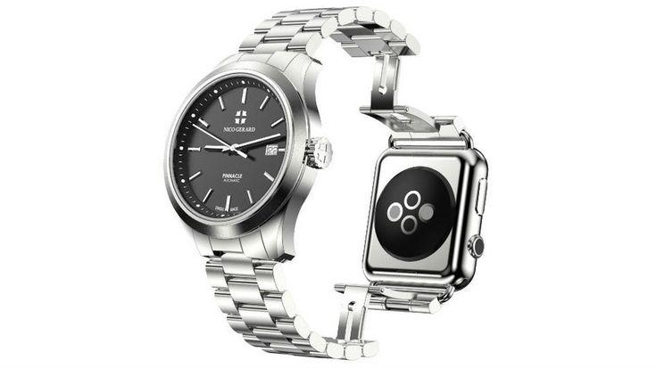 Apple Watchと合体する高級腕時計 PINNACLE。お値段100万円〜1400万円 - Engadget Japanese