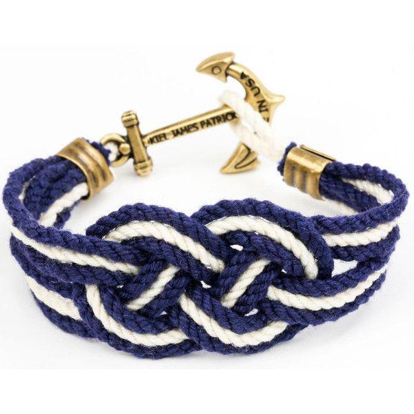 Newport Yacht Club Bracelet by Kiel James Patrick on Country Club Prep // email xcgal98@gmail.com for 20% off
