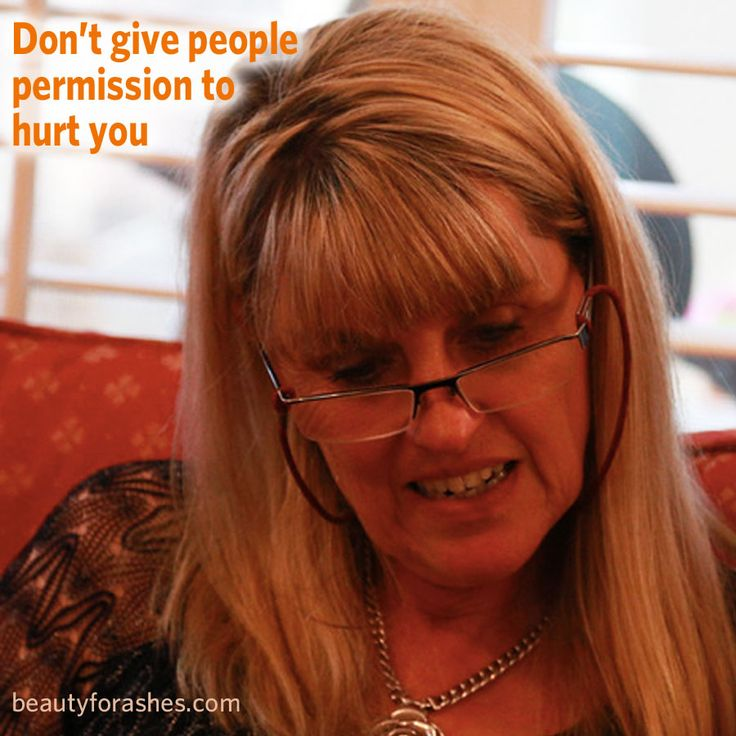 """Don't give people permission to hurt you by Carol Alexander. My mood was dark as I pondered a couple of mean spirited people in our church. """"How could they be so critical?"""" I said to myself."""