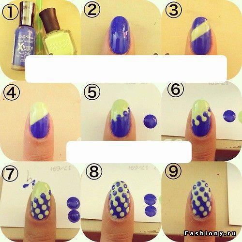 Новые идеи маникюра + МК / красивые идеи для ногтей