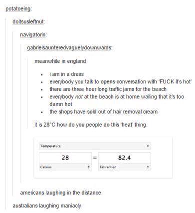 28 degrees? BITCH ITS FUCKING 40 OVER HERE MY GOD HAHAHA HAHAHAHAHHBCSHvkhwefbcq COB qevouw 3hve