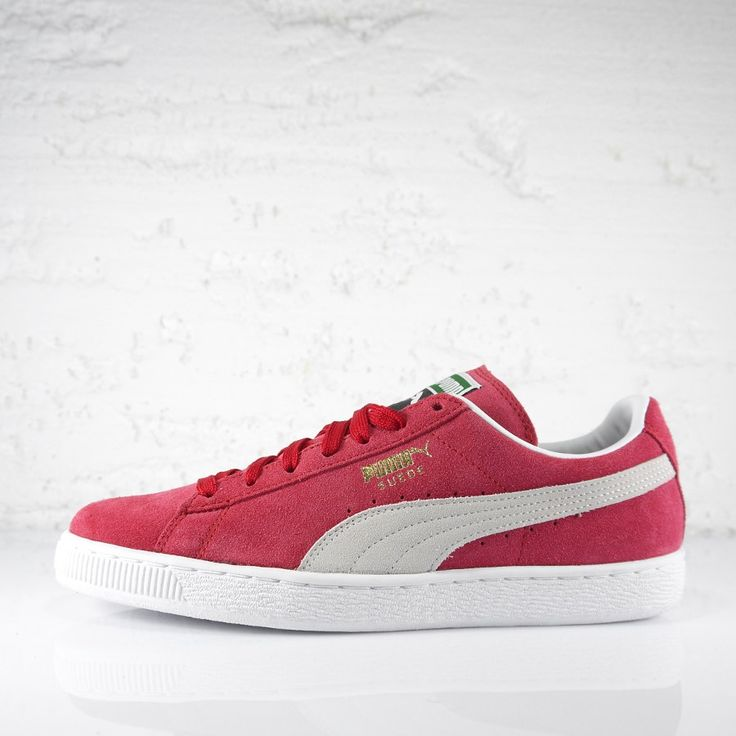"Puma Suede Classic+ ""REGAL RED/WHITE"". Get it -10% using coupon ""suederats"". www.ministryofcon..."