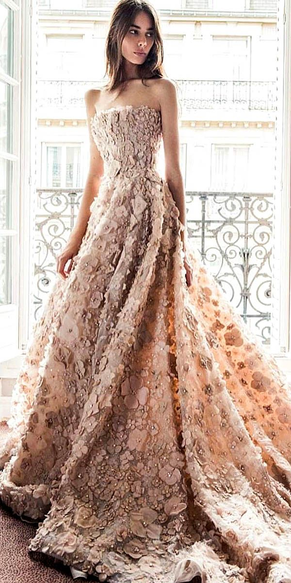 Various Ball Gown Wedding Dresses For Amazing Look ❤ See more: http://www.weddingforward.com/ball-gown-wedding-dresses/ #weddings                                                                                                                                                                                 More