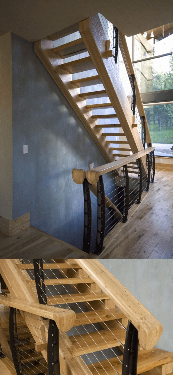 17 Best Images About Stair Cable Railing On Pinterest