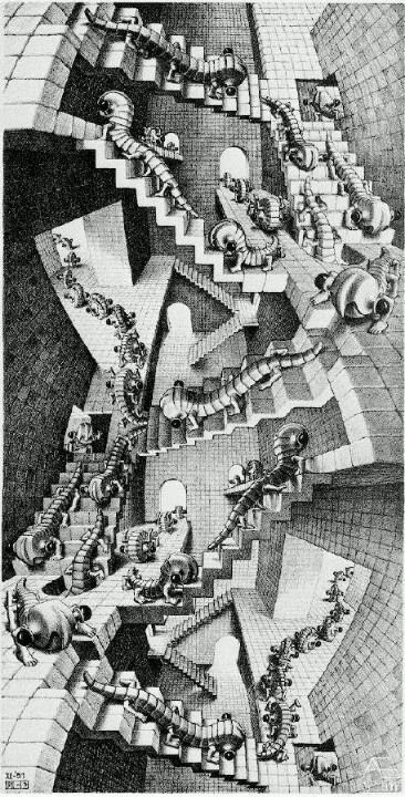 ESCHER: HOUSE OF STAIRS