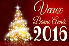 Meilleurs vœux pour la nouvelle année 2016