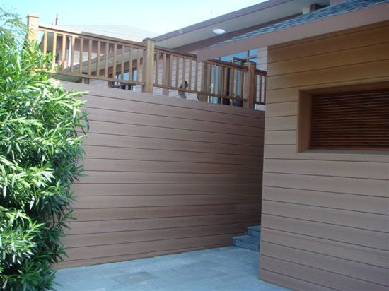 Composite wood deck panels in the domestic sphere, often the product into pure solid wood decking, engineered wood decking panel and laminate decking panel three. plastic fence panels in india, wood plastic fence panels in canada, exterior composite wall panels material sale