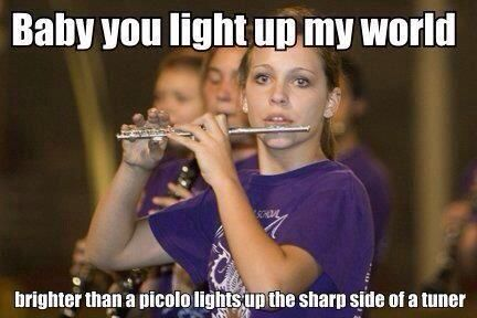 The ultimate band nerd pick-up line OMG XD
