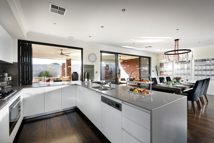 Servery window Kitchen