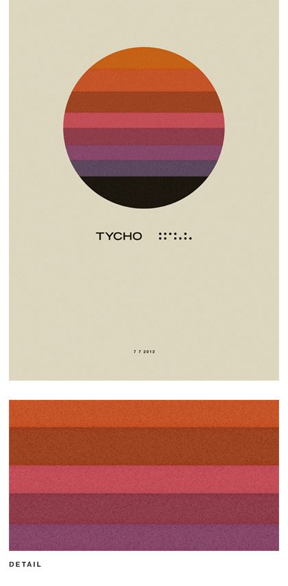 Graphic designer Scott Hansen, aka ISO50: blogs, makes and sells prints, shirts and electronic music (as Tycho).