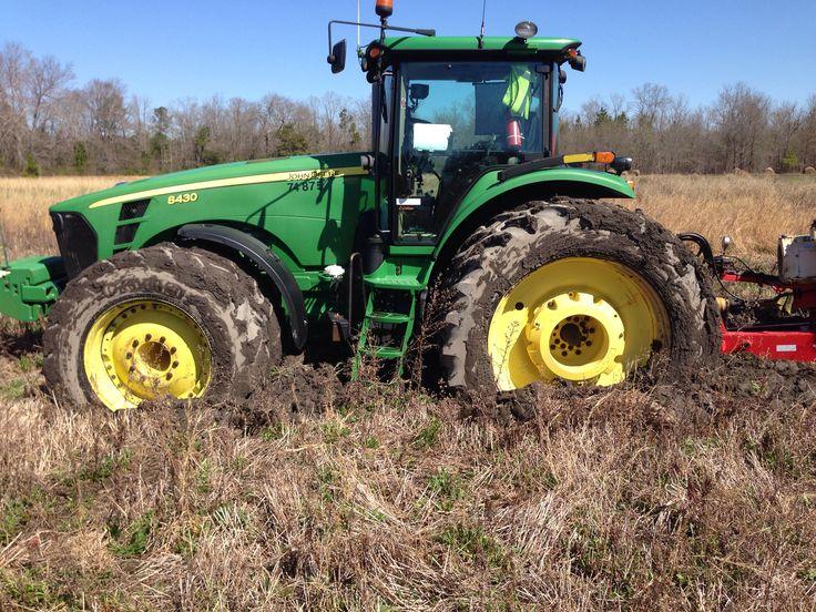 FWD JOHN DEERE 8430 stuck