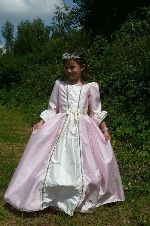 Robe de princesse Angélique
