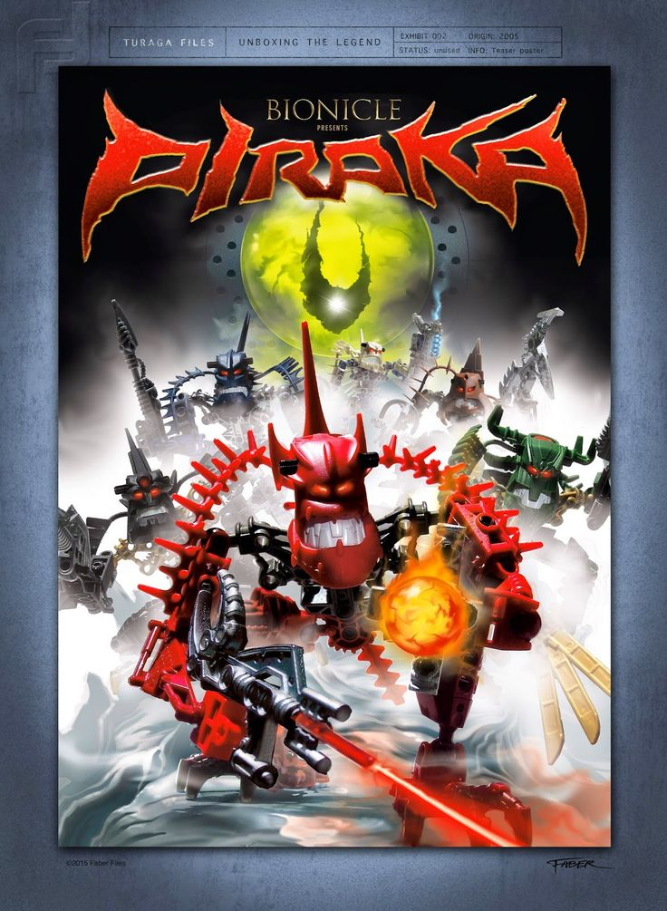 Faber Files_Bionicle Piraka poster