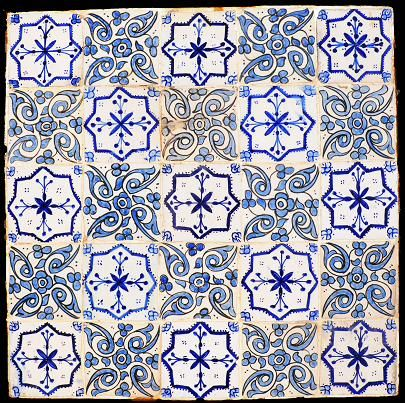 Maroccan tiles Handmade tiles can be colour coordinated and customized re. shape, texture, pattern, etc. by ceramic design studios