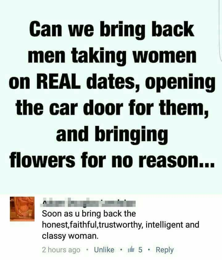 As if women would ever put anything remotely similar to fidelity and commitment into their relationships! Mgtow~~~and y'all say feminists demonize men