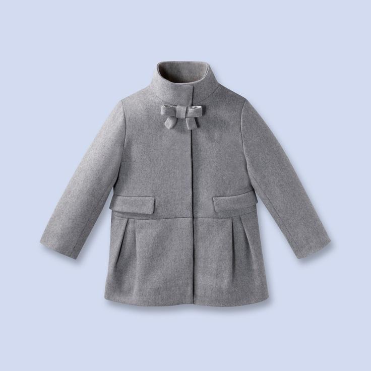 jacadi manteau en drap de laine pour enfant fille gpw15 pinterest coats wool and laine. Black Bedroom Furniture Sets. Home Design Ideas