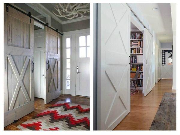 M s de 1000 ideas sobre puertas de granero interiores en for Puertas de granero correderas