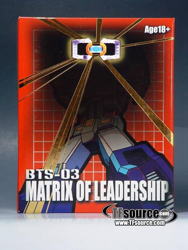 BTS-03 - G1 Prime Matrix of Leadership Upgrade Setby Best Toys #transformer