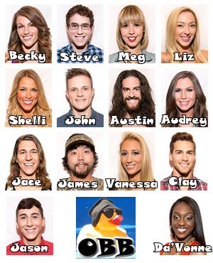 Meet the ALL NEW Cast of House Guests for Big Brother 17Big Brother 17 Spoilers | OnlineBigBrother Live Feed Updates