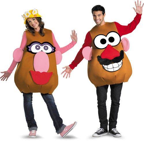 Disfraz Mr. Potato para la Señora Potato y el Señor Potato. El disfraz consta de varias piezas como el juguete original en que se basa y pu...
