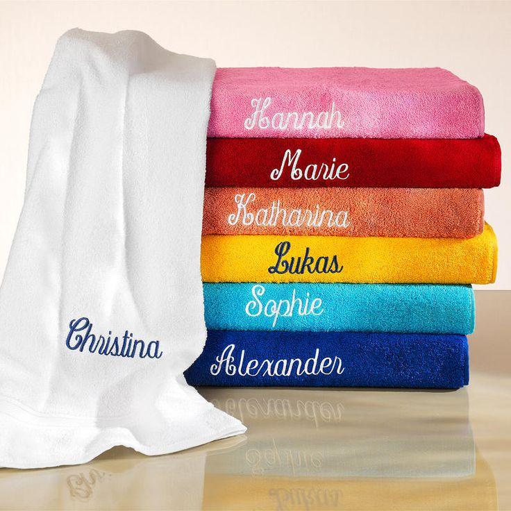 Handtuch inkl. GRATIS Stickerei kaufen