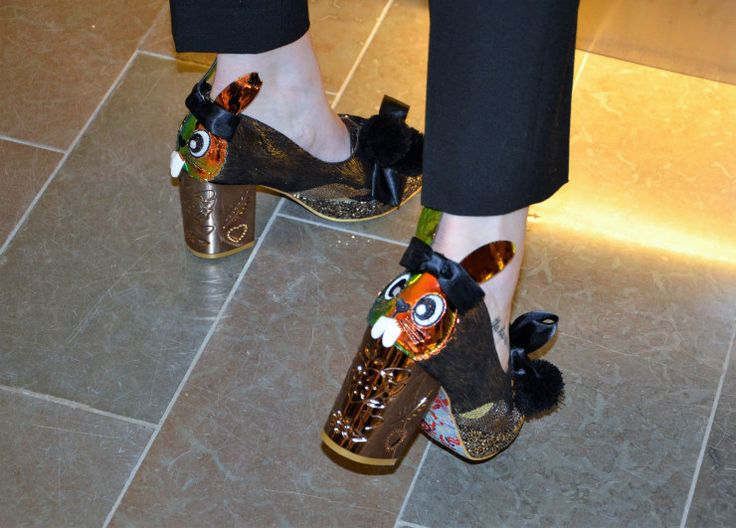 The shoes we wore to Fashion Week aw17! #irregularchoice www.hargreavesstockholm.com