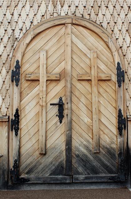 Door at Healing Spring Church (1899) Jud. Suceava, Romania