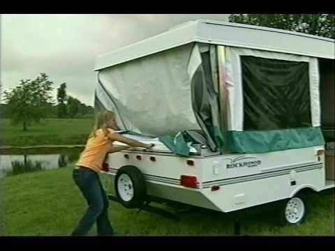 Rockwood video on setting up a pop up camper.  Valid for most brands of camper.