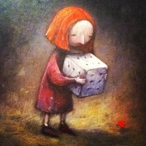 Shaun Tan from The Red Tree love that book