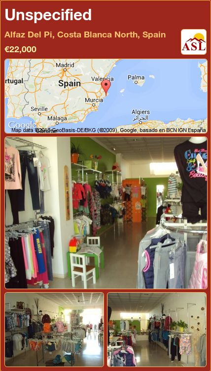 Unspecified in Alfaz Del Pi, Costa Blanca North, Spain ►€22,000 #PropertyForSaleInSpain