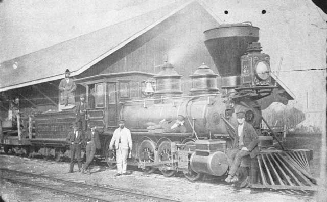 narrow gauge 17 Sarawak, one of six Baldwin 2-8-0's built in 1874