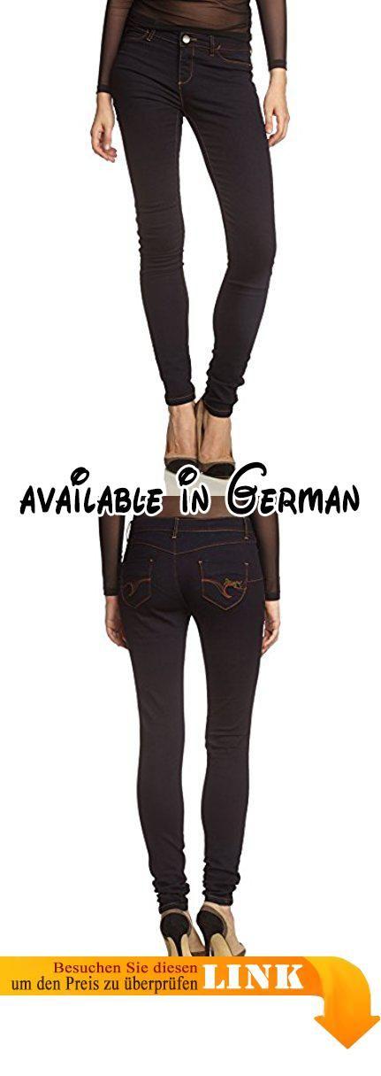 Desigual Damen Skinny Jeans DENIM_ORURO, Gr. W28, Blau (DENIM DARK BLUE 5008). Desigual Damen-Jeggins. Modell Oruro.. Diese engen Jeans im Legginsstil sind total bequem.. Du kannst sie genau wie eine Jeans kombinieren. #Apparel #PANTS