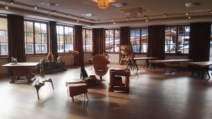 Junior Chef Florian Wolf's & Schnitza's GlemmART-Ausstellung ab sofort im Hotel Alpine Palace.