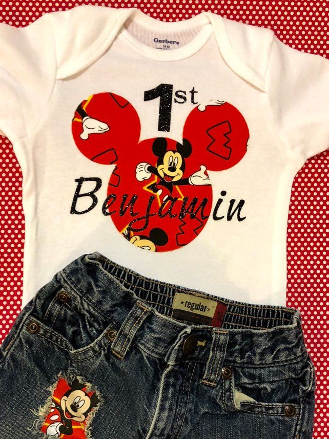 Baby Mickey Mouse 1st Birthday Outfit Promotion Off 61