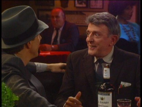 Harry Anderson, and John Astin in Night Court (1984)  Astin as Buddy was so funny!!