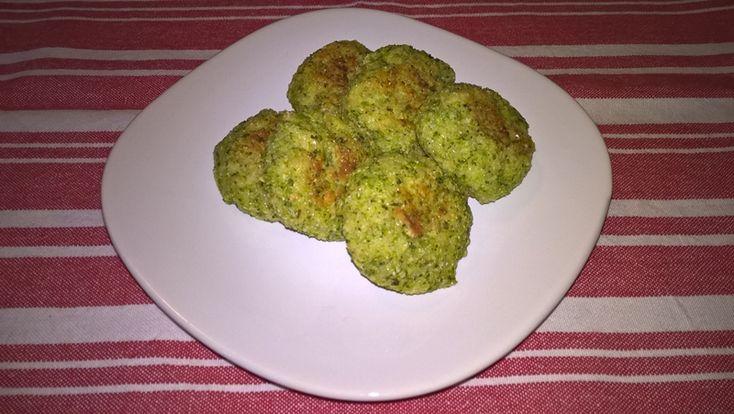 Chifteluțe cu broccoli și cașcaval