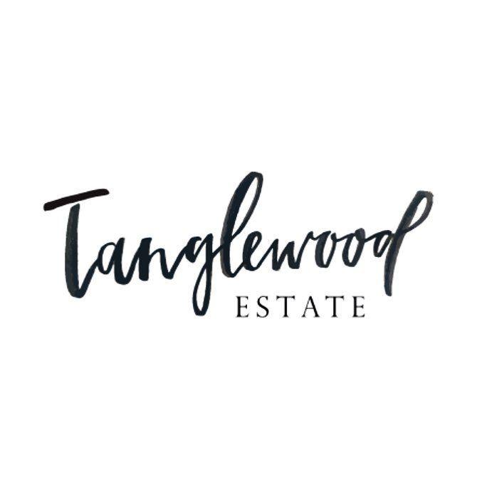 Tanglewood Estate.  Logo Design by Renee Denaro  @sadiestreetdesignco