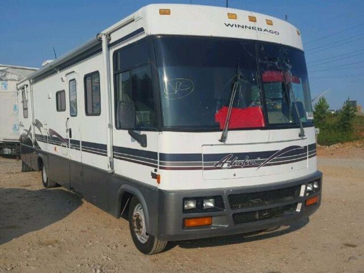 #salvage 1999 #Winnebago #Adventurer www.bidgodrive.com #RV #camping #roadtrip #outdoors #auction #forsale
