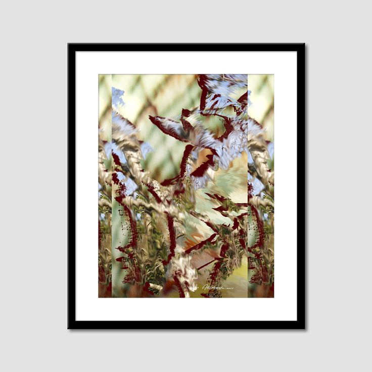 Abstract painting Printable abstract picture par ArtooshPrintables